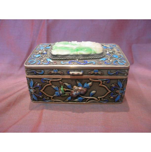 Ασημένιο Κινέζικο Κουτί