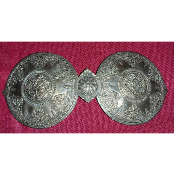 Greek Silver Belt Buckle