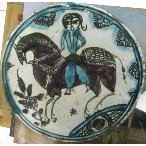Qajar Beehive Cover Ceramic
