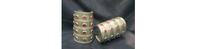 Turkmen Silver Pair Bracelets