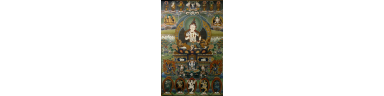 Chinese Tibetan Painted Thangka