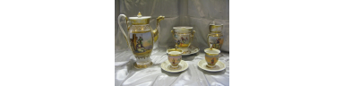 Philhellenic Porcelain Tea Set