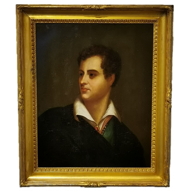 Lord Byron Portrait