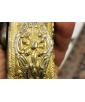 Pair of Greek silver-gilt flintlock holster (kubur) pistols.