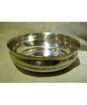 Turkish Silver Hamam Bowl
